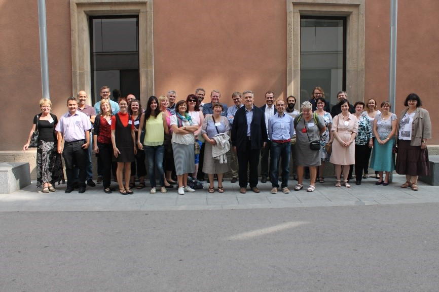 All team members at the first Meeting in Barcelona, 25-27 September 2015.