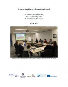 1st IHEA Core Team Meeting 17 - 18 February 2015