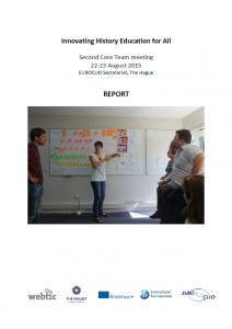 2nd IHEA Core Team Meeting 22 - 23 August 2015