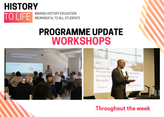PROGRAMME UPDATE WORKSHOPS