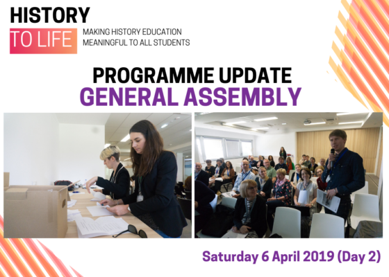 Programme update General Assembly